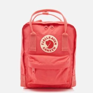 Large Pink Fjallraven Backpack